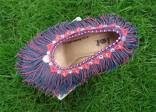 Fringe Benefits (shoe) by j.i. kleinberg