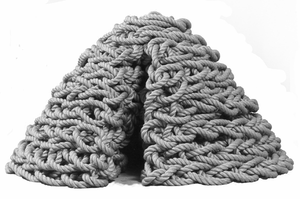 rope sculpture by j.i. kleinberg