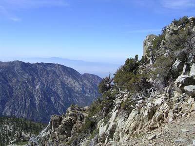 Distant Mt Baldy