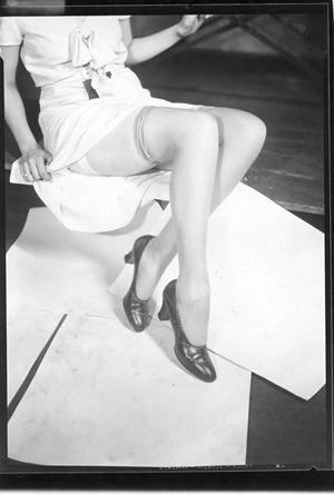 Dorothy's legs (before)