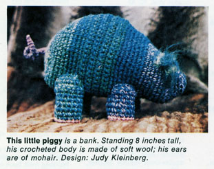 jik pig in Sunset Crochet Techniques & Projects