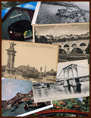 bridge postcards