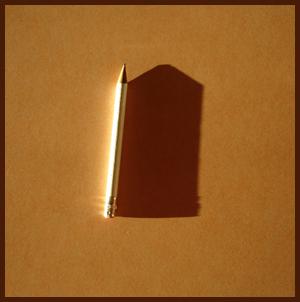 pencil shadow
