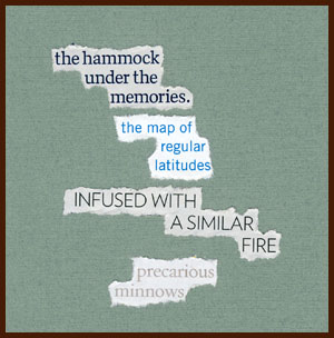 found poem by j.i. kleinberg ~ the hammock