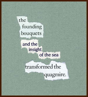 found poem by j.i. kleinberg ~ the founding