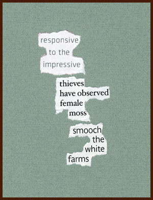 found poem © j.i. kleinberg ~ responsive