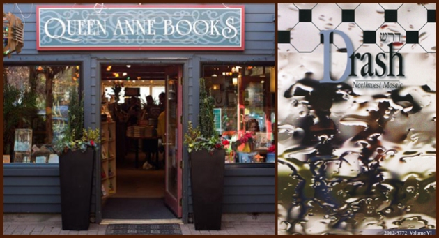 Queen Anne Books reading and party for Drash