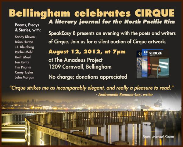 SpeakEasy 8: Cirque literary journal