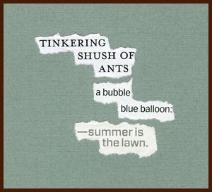 found poem © j.i. kleinberg ~ tinkering
