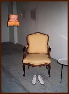 DAK Sitting Room, installation, SITE Gallery, 1993