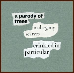 found poem © j.i. kleinberg ~ a parody
