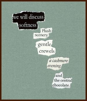 found poem © j.i. kleinberg ~ we will discuss