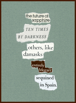 found poem © j.i. kleinberg ~ the future