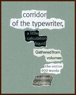 found poem © j.i. kleinberg ~ corridor