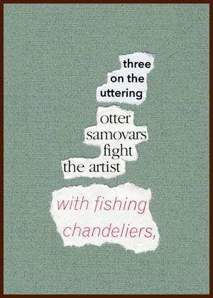 found poem © j.i. kleinberg ~ three