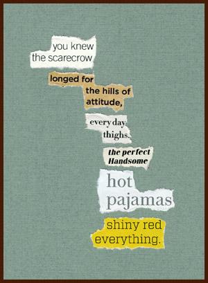 found poem © j.i. kleinberg ~ you knew
