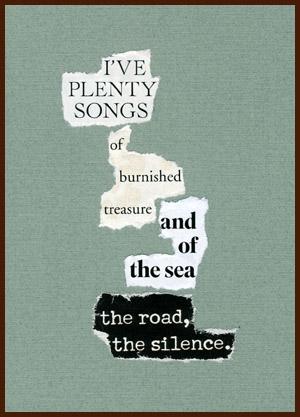 found poem © j.i. kleinberg ~ I'VE PLENTY