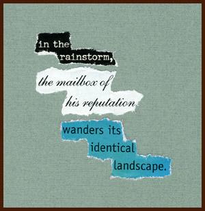 found poem © j.i. kleinberg ~ in the rainstorm