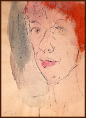DAK self portrait 1964