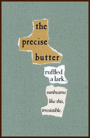 found poem © j.i. kleinberg ~ the precise