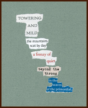 found poem © j.i. kleinberg ~ TOWERING