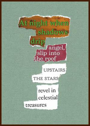 found poem © j.i. kleinberg ~ At night
