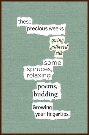 found poem © j.i. kleinberg ~ these