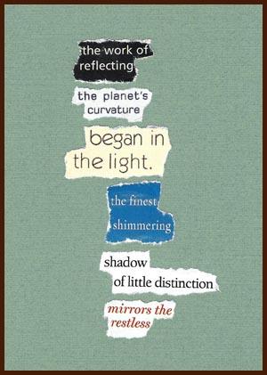 found poem © j.i. kleinberg ~ the work