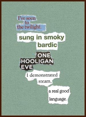 found poem © j.i. kleinberg ~ I've seen