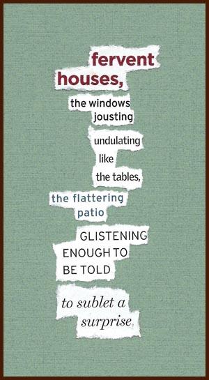 found poem © j.i. kleinberg ~ fervent