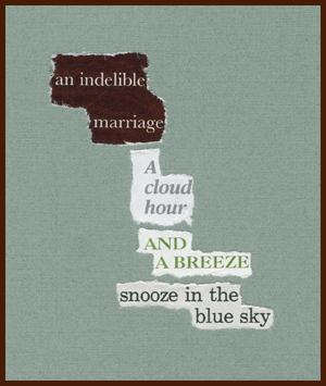 found poem © j.i. kleinberg ~ an indelible