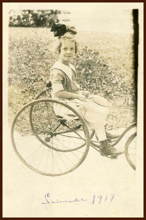 Dorothy in 1917