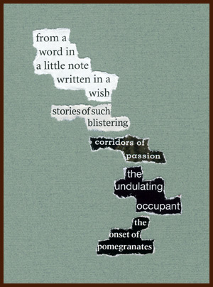 found poem © j.i. kleinberg ~ from a word