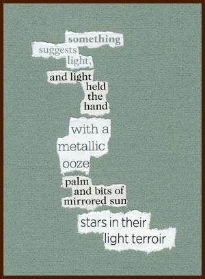 found poem © j.i. kleinberg ~ something