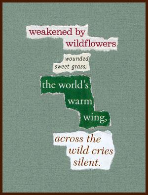 found poem © j.i. kleinberg ~ weakened