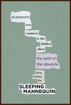 found poem © j.i. kleinberg ~ AN AGGRESSIVE VOID