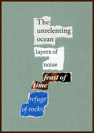 found poem © j.i. kleinberg ~ The unrelenting