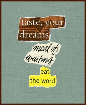 found poem © j.i. kleinberg ~ taste