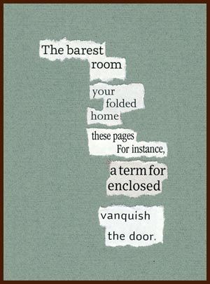 found poem © j.i. kleinberg ~ The barest