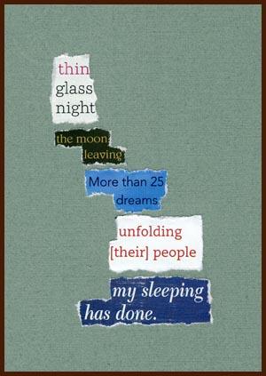 found poem © j.i. kleinberg ~ thin