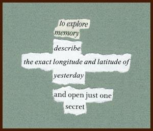 found poem © j.i. kleinberg ~ explore