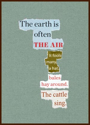 found poem © j.i. kleinberg ~ The earth