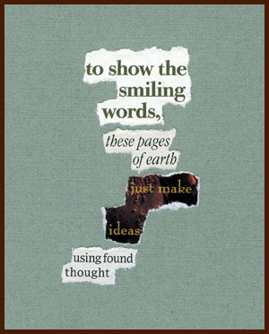 found poem © j.i. kleinberg ~ to show