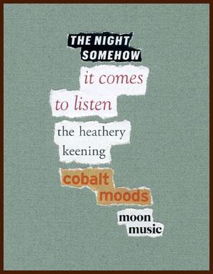 found poem © j.i. kleinberg ~ THE NIGHT