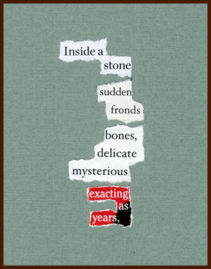 found poem © j.i. kleinberg ~ Inside