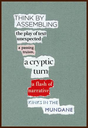 found poem © j.i. kleinberg ~ THINK