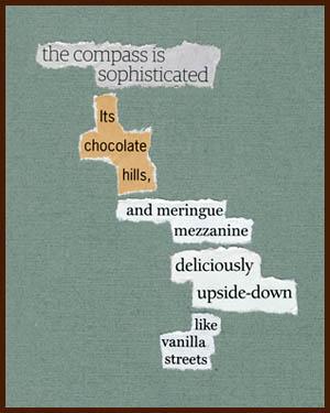 found poem © j.i. kleinberg ~ the compass