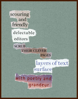 found poem © j.i. kleinberg ~ scouring