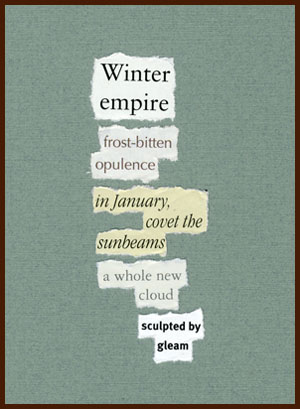 found poem © j.i. kleinberg ~ Winter