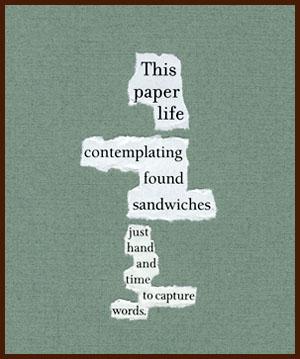 found poem © j.i. kleinberg ~ This paper
